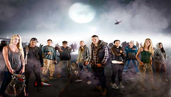 I Survived a Zombie Apocalypse Title Sequence
